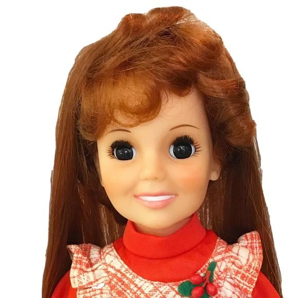 Swirla-Curler Crissy Doll Vintage Growing Hair 73